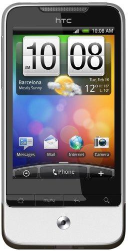 HTC Legend - Smartphone (pantalla táctil de 8,1 cm (3,2'), cámara de 5 Mpx, Android 2.1), color negro