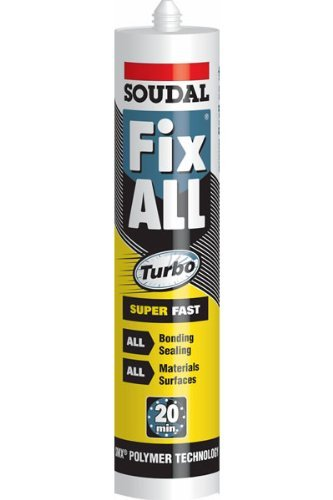 SOUDAL Fix all Turbo–Super schnelle selbstklebend