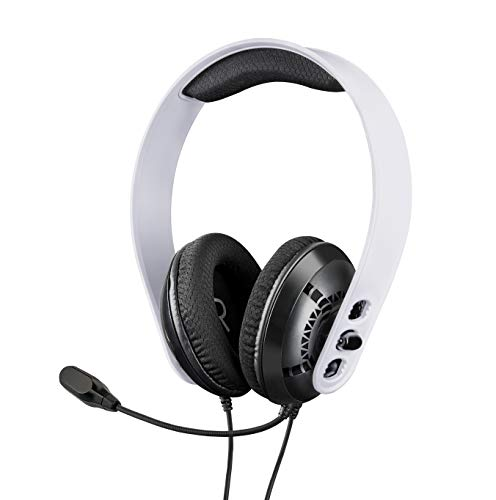 RAPTOR PS5 Headset, Gaming Headset PS5, PS4, PC, Xbox One, Xbox Series X/S, Nintendo Switch, Smartphone und Tablets, Kopfhörer mit Mikrofon [Edizione: Germania]