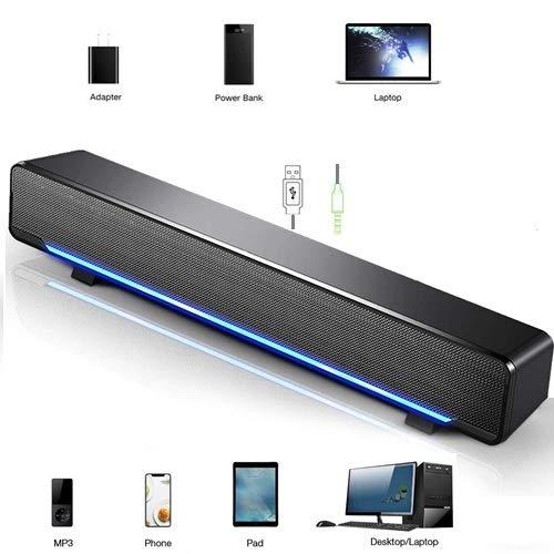 Altavoces HiFi PC, Estéreo 3D, con Cable 3.5mm Connector, Móviles Ta