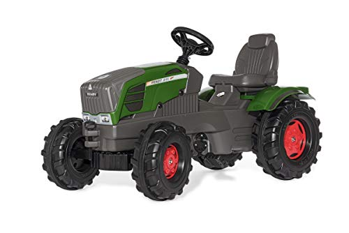 Rolly Toys Traktor rollyFarmtrac Fendt 211 Vario (für Kinder im Alter von 3 – 8 Jahre, Kindertraktor mit Front- und Heckkupplung) 601028