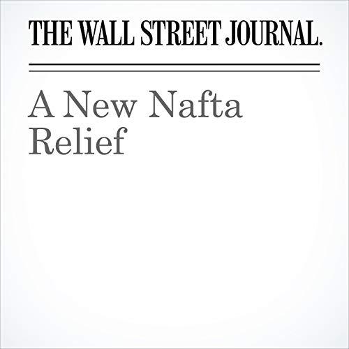 A New Nafta Relief copertina