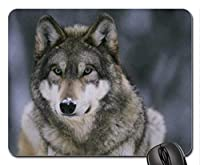 Snow Wolfマウスパッド、マウスパッド