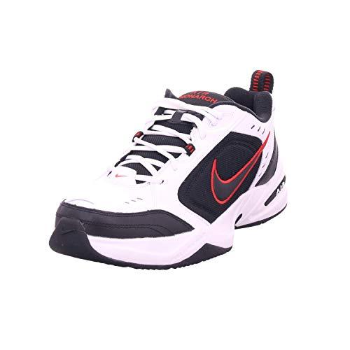 Nike Air Monarch Iv - Scarpe da fitness da uomo, 9,5 UK, (bianco e nero), 47 EU