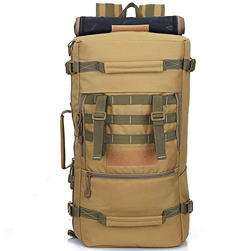Byoauo 50L Militär Rucksäcke Groß Taktischer Rucksack Wasserdichter Wanderrucksack für Outdoor Camping (-16)