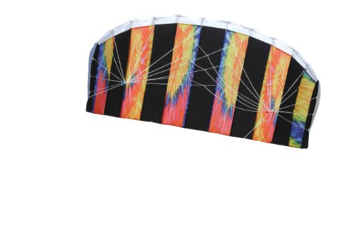 commercial The 62-inch sport kite Breeze Tie Dye (two-row cascade parachute) contains a knitted kite … cheap stunt kite