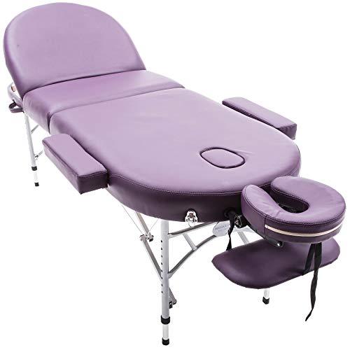 Massage Imperial® Professional Lightweight Purple Consort Aluminium...
