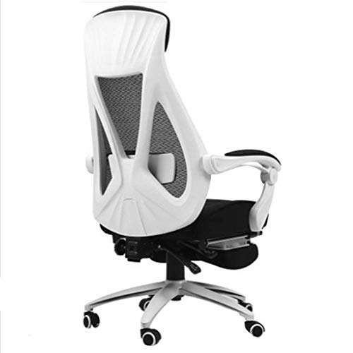 WSDSX High Back PU Leather with 4D Adjustable Arms Swivel Gaming Chair with Adjustable Lumbar Support U-Headrest Racing Office Chair