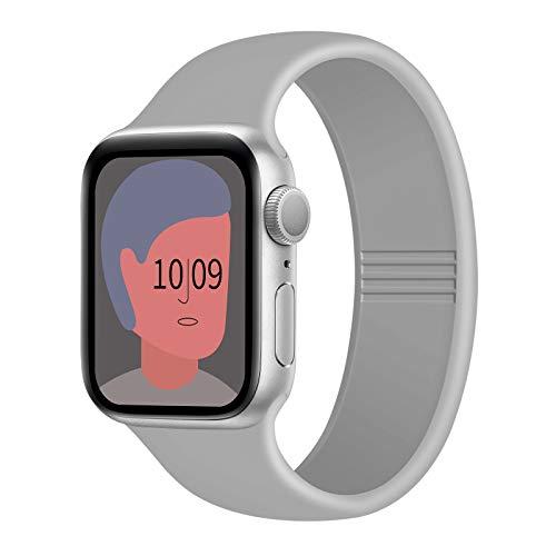 FRESHCLOUD コンパチブル Apple Watch バンド 38mm 40mm 42mm 44mm アップルウォッチ バンド iwatch バンドスポーツバンド 交換ベルト シリコン素材 apple watch series 6/5/4/3/2/1/SE対応 2020年秋最新版