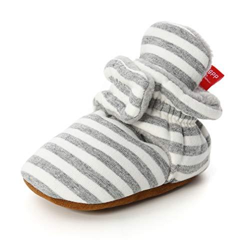Kfnire Kleinkind Baby Anti-Rutsch Sock Schuhe Stiefel (6-12 Monate, A #05)