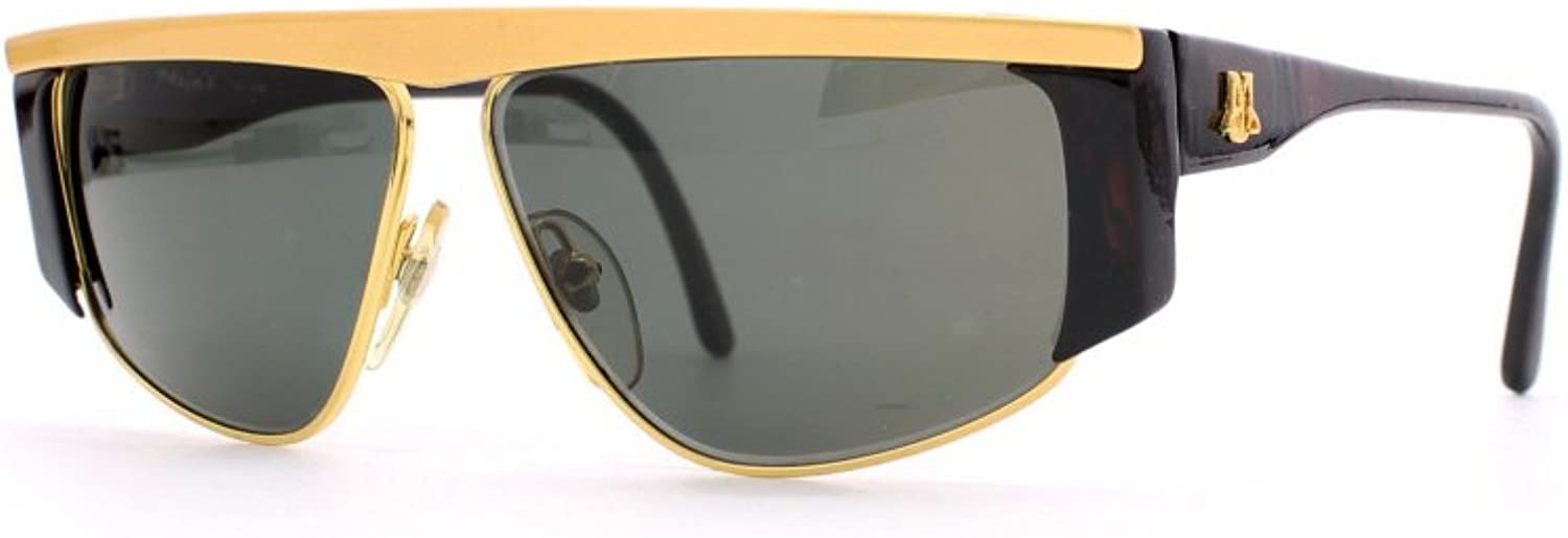 Maxims Top 1 01 gold and Red Authentic Women Vintage Sunglasses