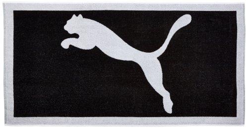 Puma Unisex Handtuch Fußball Team, schwarz/weiß, one size, 653982 03