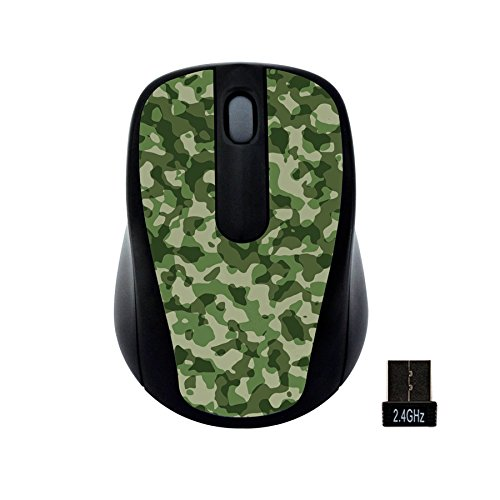Gear Head Wireless Optical Nano Mouse, Camouflage (MP2120CMO)