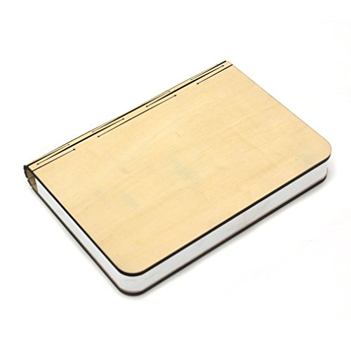 GranVela GreenO Luci Libro Pieghevole Ricarica USB lampada LED, lampada di notte Art Decò, Regalo Alla Moda -- bianco