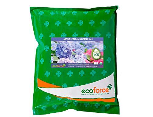CULTIVERS ECO10F00166 Abono Ecológico Hortensias y Camelias de 1,5 kg. Fertilizante de...