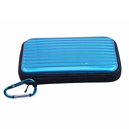 Blue Portable Case Tasche Bag Cover Pouch Box for CASIO EXILIM EX-FR10 Digital Camera