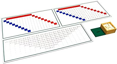 Montessori Subtraction Working Charts