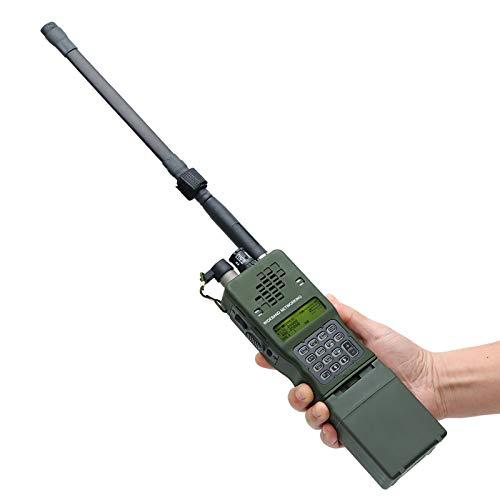 Long Range Walkie Talkies, CS UV Dual Band Walkie Talkie Ham Radio PRC 152,IPX7 The Three Anti Designdesign