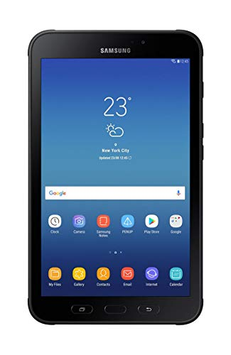 SAMSUNG Tablet Galaxy Tab ACTIVE2 T390 Black - 8'/20.3CM - OC 1.6GHZ - 16GB - 3GB RAM - Android 7.1 - Cam 8/5MP - Micro SD - Bat. 4450MAH - RUGERIZADA
