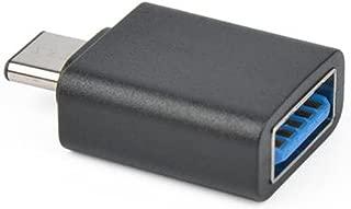 Black to 9 Pin USB Type A M USB3C-USB3AF-4IN F Comprehensive USBC Adapter 4 in 24 Pin USBC