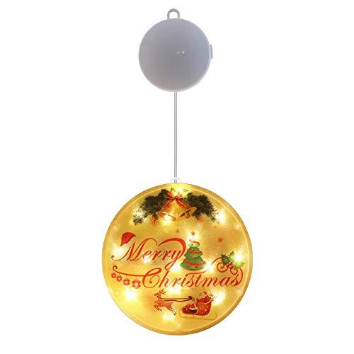 Decoración de luz de Navidad Linterna de Navidad Lámpara colgante Led Lámpara de estrella creativa Festival Atmósfera Cadena de lámpara