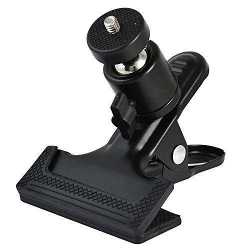 MENGS® 1/4' Schraube Blitzschiene mit 360º Drehende Kamera Kugelkopf Machen aus Metall und Kunststoff Anzug für alle Arten von DSLR/SLR Kamera Stativ,...