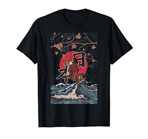 Koi Nishikigoi Carpe Japon Poisson Dornement Poisson T-Shirt