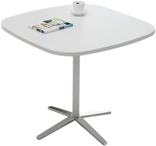 ventas de salida Zaixi Square-Training Desk Employee Desk Conference Desk Training Conference Conference Conference Negociación Tabla   80  80  75cm Fuerte Capacidad de Carga (Color   blanco Square table)  Con 100% de calidad y servicio de% 100.