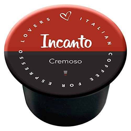 100 Capsule Italian Coffee compatibili Lavazza Blue & Lavazza In Black Nims (Incanto Cremoso)
