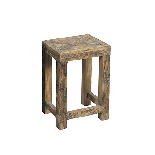 Grafelstein Beistelltisch Long Island braun aus Holz Used-Look Treibholz Tisch - KLEIN