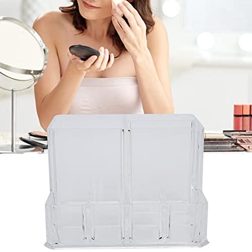 Qqmora Organizador de Maquillaje multifunción acrílico de Soporte cosmético Duradero para salón para lápices labiales para el hogar