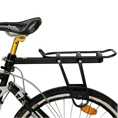 PN-Braes Rear Bike Rack Aluminum Alloy Rear Shelf Rack Bike Rack Loading Frame Pack Height Adjustable