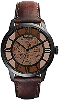 Fossil Men's Townsman Auto Automatic Leather Three-Hand Watch