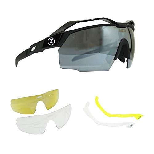 LAZER occhiali Vento Montatura Nero Opaco