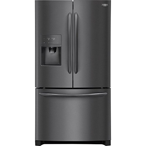 Frigidaire 27.1 CF Black Stainless French Door Refrigerator with Dual Ice Makers LGHB2867TD