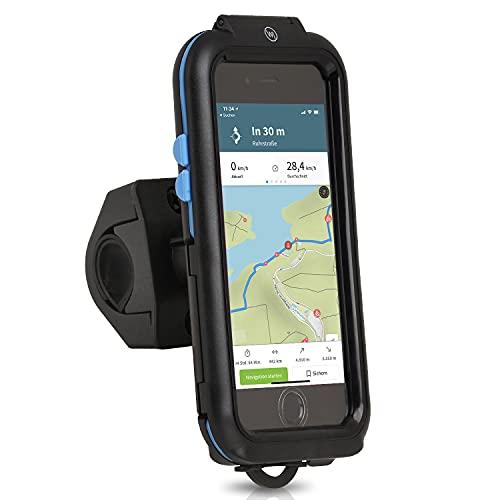 Wicked Chili Tour Case kompatibel mit Apple iPhone SE (2020), 8, 7, 6S, 6 Outdoor Fahrradhalterung Bike Mount - Spritzwasserschutz IPX4, Case und Handyhalterung für Motorrad/Fahrrad Lenker Vorbau