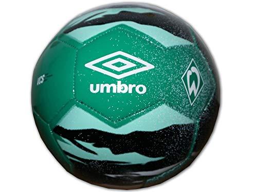 UMBRO Werder Bremen - Pallone da calcio Neo Trainer, colore verde, taglia: 5