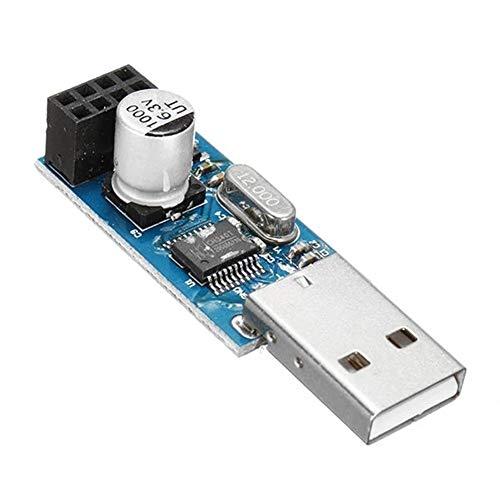 Tarjeta de adaptador USB for ESP8266 WIFI Módulo 3 piezas del equipo móvil de comunicación inalámbrica MCU