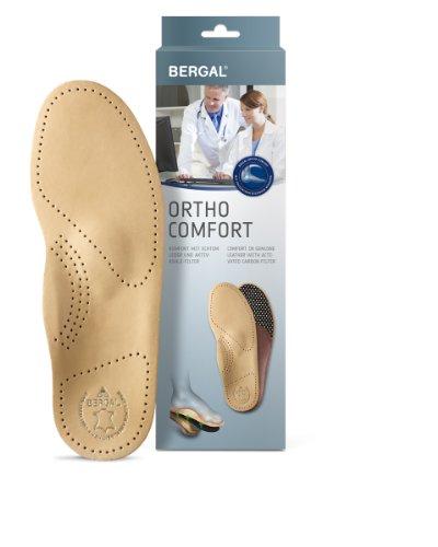 Bergal Ortho Comfort Orthopädische Einlagen aus Leder (38)