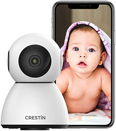 Security Camera CRESTIN IP Camera 1080P HD Baby Monitor WiFi Home Indoor Camera for Baby Pet product image