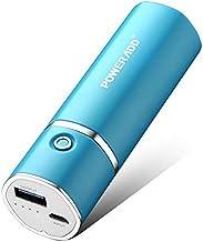 POWERADD Slim2 de 5000mAh Power Bank Cargador Móvil Portátil Batería Externa para iPhone, iPad Samsung Huawei Xiaomi Dispositivos Android y Más - Azul