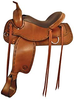Conroe Trail Saddle by Tex Tan Saddle