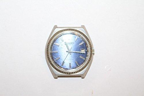 Unbekannt Original Vintage 1970er 70s Reloj de pulsera reloj de hombre Citizen Automatic Fecha Ejecución