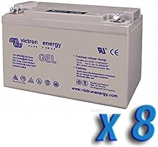 Victron Energy - Set 8 x Batería 220Ah 12V GEL Deep Cycle Victron Energy Fotovoltáico Cámper - BAT412201104x8