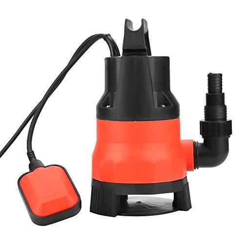 Elektrische Wasserpumpe, Hochleistungs-elektrische 400-W-Tauchpumpe für sauberes, schmutziges Hochwasser, EU-Stecker 220V