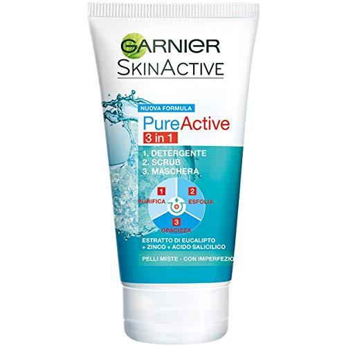 Garnier Detergente Pure Active, Azione 3 in 1,...