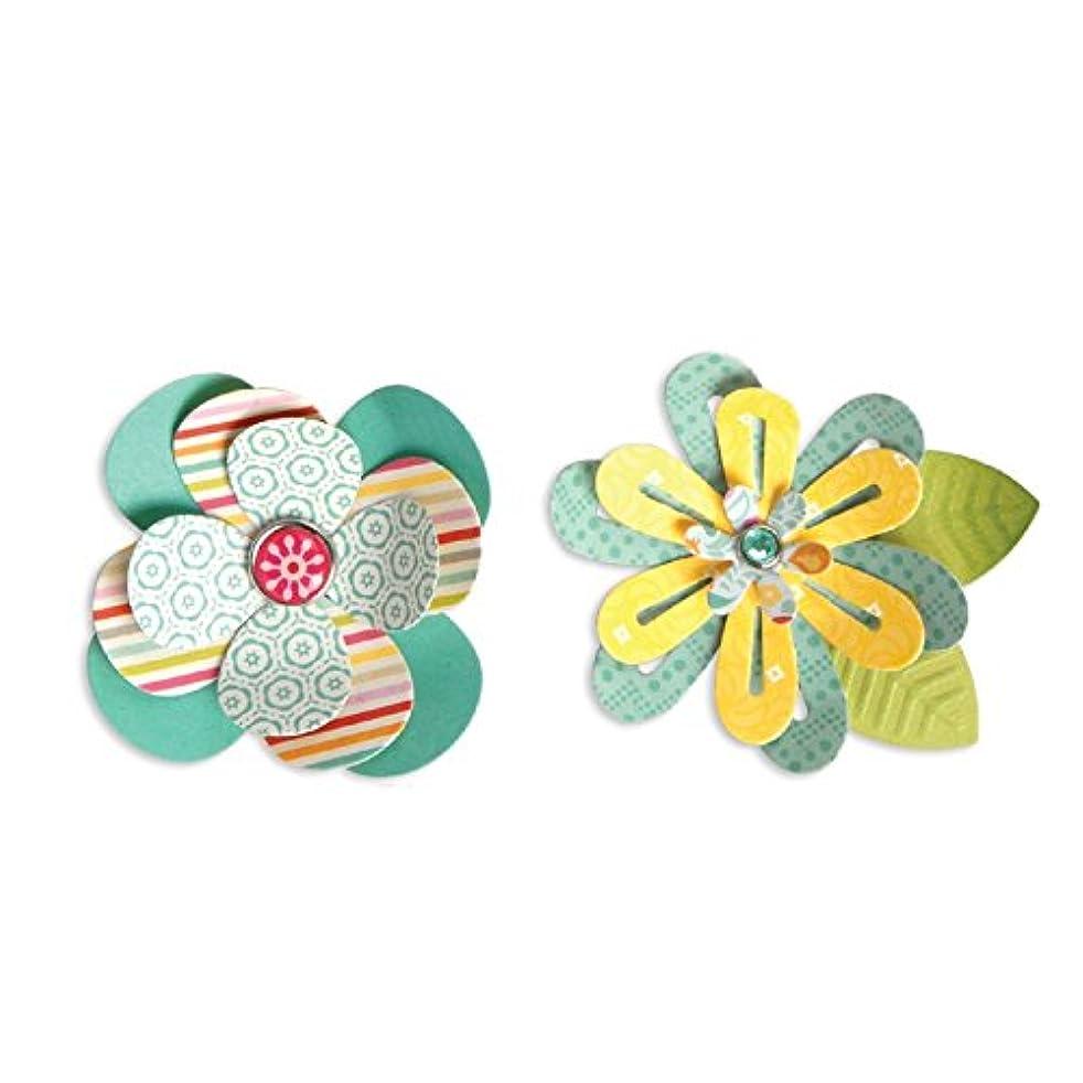 Sizzix 659949 Simple Flowers-2 Thinlits Dies, 7-Pack