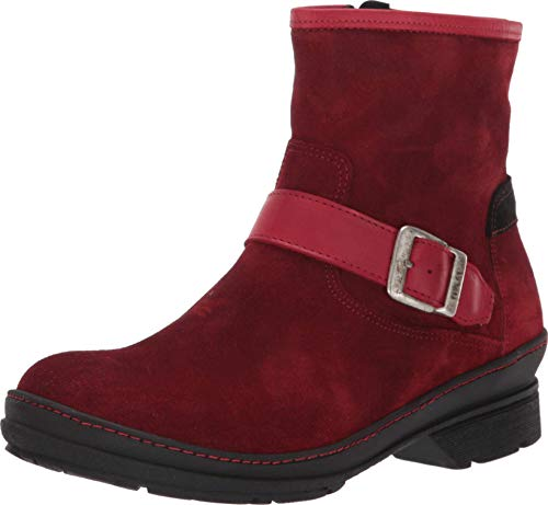 Wolky Nitra WP Womens Comfortable Ankle Boots - Waterproof and Warm Lining - Flexible Rubber Outsole - Genuine Suede - Removable Anatomically shaped Footbed - Inside Zipper - Made in Portugal