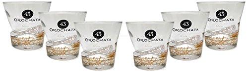 Licor 43 Cuarenta y Tres Orochata Glas Gläser-Set - 6x Tumbler