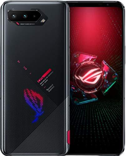 Asus ROG Phone 5 (ZS673KS/I005DA) 5G / Dual SIM / 128GB + 8GB RAM/SIMフリー/Tencent 版 with Google Play / リフレッシュレート144Hz / ゲーミングスマホ (Phantom Black/ブラック)